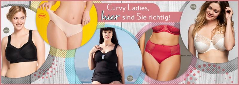 Curvy Ladies, hier sind Sie richtig!