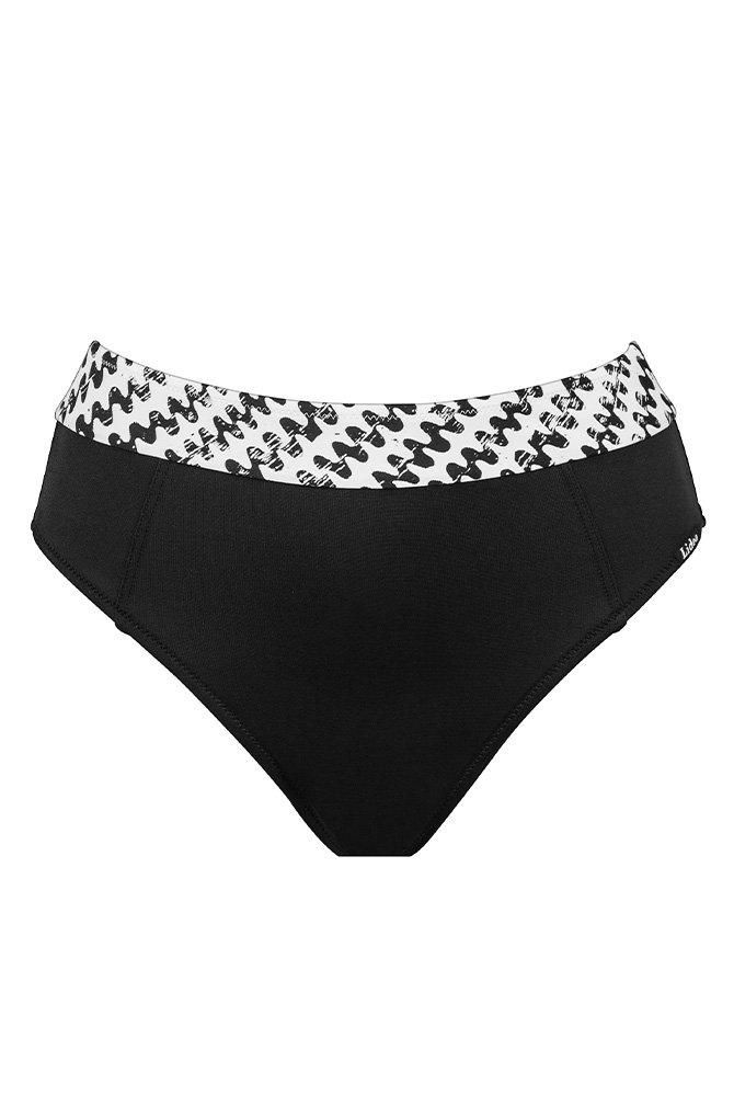 Lidea - Bikini-Hose Pantelleria - schwarz-weiß
