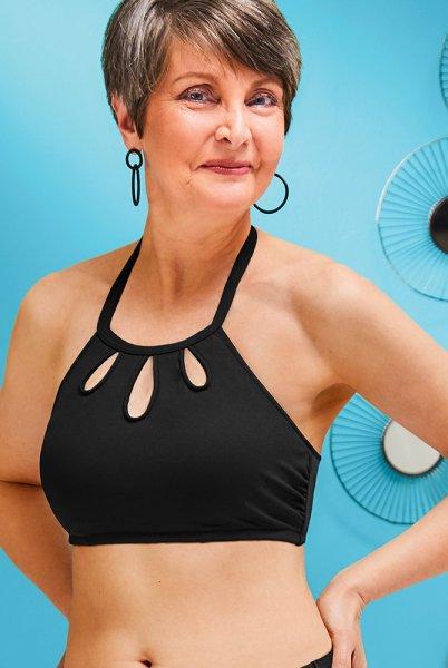Amoena - Prothesen-Bikini-Oberteil Corsica - schwarz