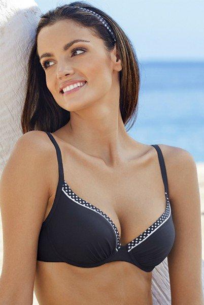 Lidea Bikinioberteil Capri - schwarz