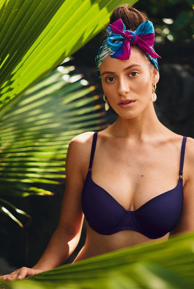 Rosa Faia - Bikini-Top Maja - night blue