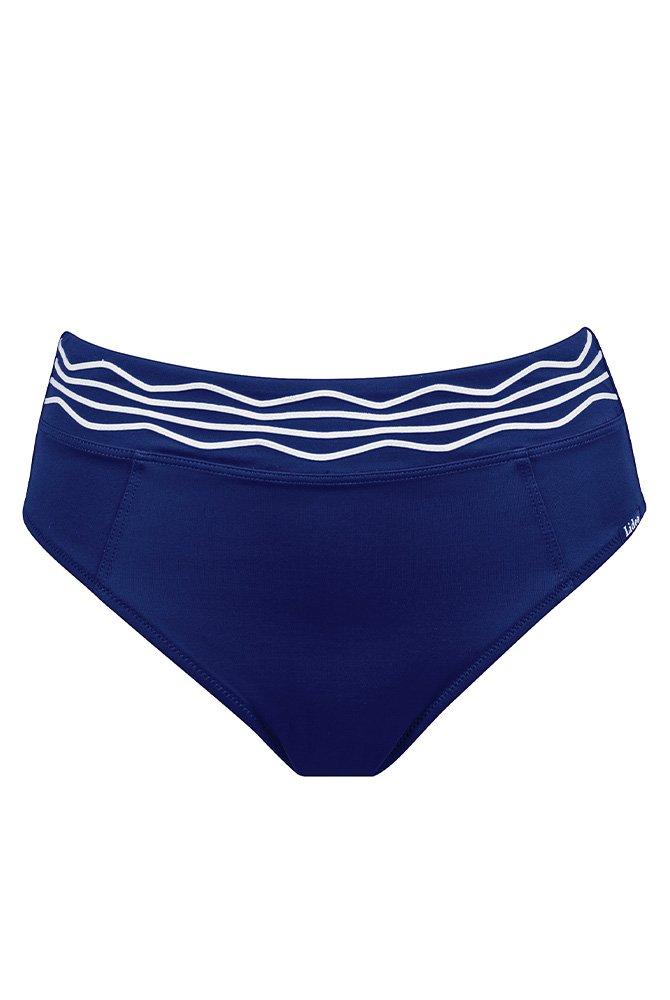 Lidea -Bikini-Hose Nouvelle Vague - blau-weiß