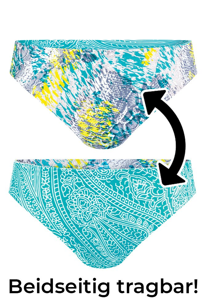 Amoena-Bikini-Hose-California-aqua/weiß