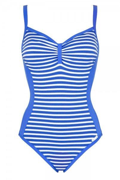 Lidea - Badeanzug Barbados 8653.670.950 - Blau-Weiß