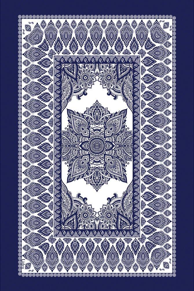 Lidea - Pareo Antibes - Weiß-Blau
